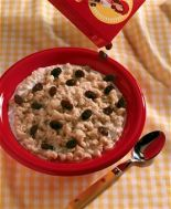 Oatmeal with blueberry